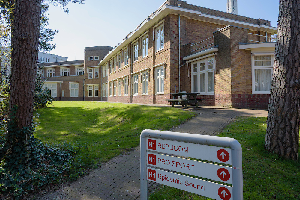 Villa Heideheuvel, Mediapark, Hilversum, Netherlands