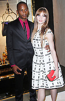 Eric Underwood & Melissa Hamilton, Fendi - Store Launch Party, New Bond Street, London UK, 01 May 2014, Photo by Brett D. Cove