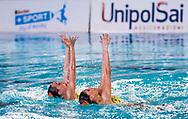 Eliminatorie Duo<br /> RN SAVONA<br /> DI CAMILLO Costanza / MURRU Marta<br /> Campionato Nazionale Italiano Assoluto Invernale 2018<br /> Stadio del Nuoto di Riccione<br /> Riccione (RN) 8-11 Febbraio 2018<br /> Day1<br /> Photo P. Mesiano/Insidefoto/Deepbluemedia.eu