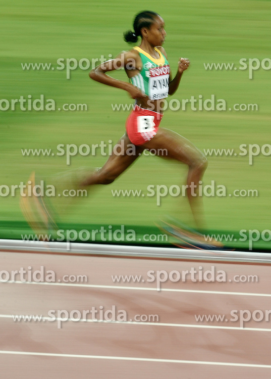 30-08-2015 CHN: IAAF World Championships Athletics day 9, Beijing<br /> 500 meter final - Gold Almaz AYANA ETH<br /> Photo by Ronald Hoogendoorn / Sportida