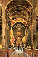 People praying in La Basilica church, Cartago, Costa Rica.<br /> <br /> For pricing click on ADD TO CART (above). We accept payments via PayPal.