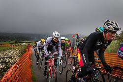 Bauke Mollema (NED,191) of Trek - Segafredo in the peloton at C&ocirc;te de La Redoute with 48 km to go, the 102th edition of Li&egrave;ge-Bastogne-Li&egrave;ge race running 253 km from Li&egrave;ge to Li&egrave;ge, Belgium, 24 April 2016.<br /> Photo by Pim Nijland / PelotonPhotos.com<br /> <br /> All photos usage must carry mandatory copyright credit (&copy; Peloton Photos | Pim Nijland)
