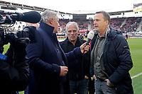 Martin Haar, coach *John van den Brom* of AZ Alkmaar