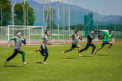 Jurij Tepes during training of Slovenian Ski Jumping team, on May 22th, 2017 in Sports Park Kranj, Kranj, Slovenia. Photo by Ziga Zupan / Sportida