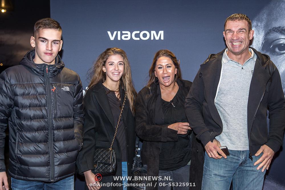 NLD/Almere/20171029 - Finale Spiike presents: WFL - Final 16, Peter Aerts en partner en dochter