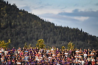 Spectators attend the match with Fiesole Hill in the background <br /> Firenze 02-09-2018 Stadio Artemio Franchi Football Calcio Serie A 2018/2019 Fiorentina - Udinese  <br /> Foto Andrea Staccioli / Insidefoto