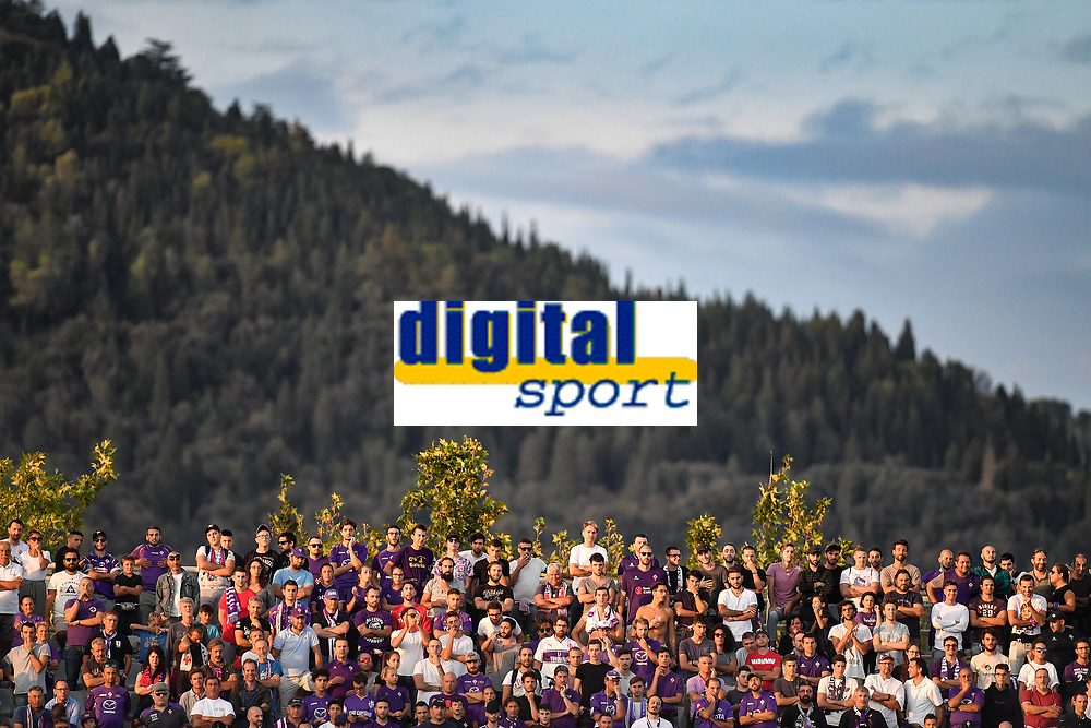 Spectators attend the match with Fiesole Hill in the background <br /> Firenze 02-09-2018 Stadio Artemio Franchi Football Calcio Serie A 2018/2019 Fiorentina - Udinese  <br /> Foto Andrea Staccioli / Insidefoto