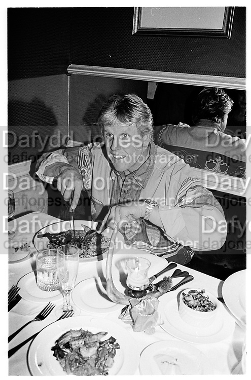 Gary Pusey (actor) at Caribou Club, Aspen Colorado1995© Copyright Photograph by Dafydd Jones 66 Stockwell Park Rd. London SW9 0DA Tel 020 7733 0108 www.dafjones.com