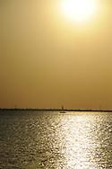 lake hefner in Oklahoma City.