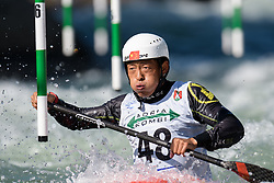 Yongzhao XU of China during the Canoe Single (C1) Men SemiFinal race of 2019 ICF Canoe Slalom World Cup 4, on June 28, 2019 in Tacen, Ljubljana, Slovenia. Photo by Sasa Pahic Szabo / Sportida