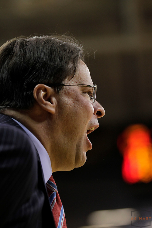 31 December 2012: Indiana head coach Tom Crean as the Indiana Hoosiers played the Iowa Hawkeyes in Iowa City, IA.