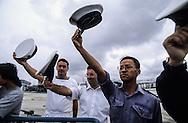 Hong Kong. Tom Senter last captain of the navy base de Stone cutter  (nouveaux territories)