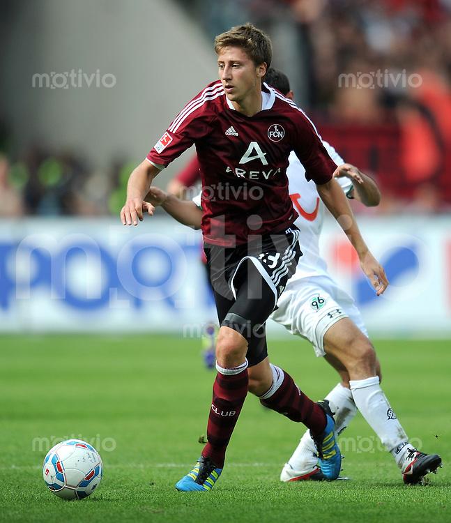 FUSSBALL   1. BUNDESLIGA  SAISON 2011/2012   2. Spieltag 1 FC Nuernberg - Hannover 96          13.08.2011 Jens Hegeler (1 FC Nuernberg)