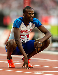 Great Britain's Rabah Yousif after the mens 400m during day two of the Athletics World Cup at The Queen Elizabeth Stadium, London.