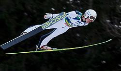 12.01.2014, Kulm, Bad Mitterndorf, AUT, FIS Ski Flug Weltcup, Erster Durchgang, im Bild Stefan Kraft (AUT) // Stefan Kraft (AUT) during the first round of FIS Ski Flying World Cup at the Kulm, Bad Mitterndorf, .Austria on 2014/01/12, EXPA Pictures © 2013, PhotoCredit: EXPA/ Erwin Scheriau