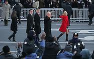 Vice President Joe Biden and Dr Jill Biden walk   on Pennsylvania Avenue on January 20, 2009. Photograph: Dennis Brack