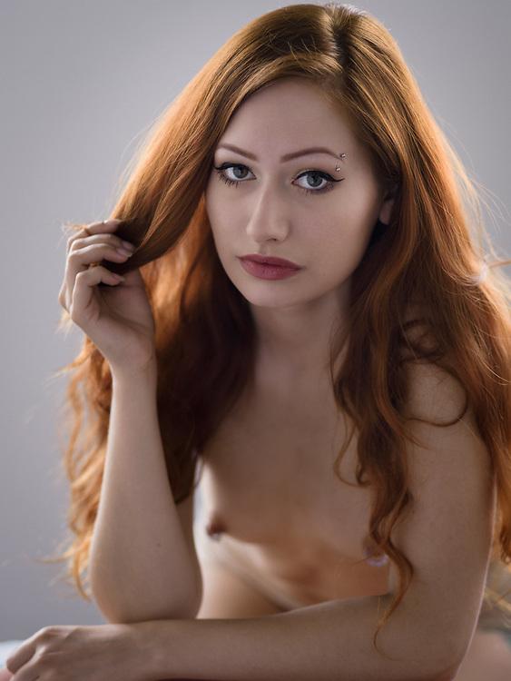 Hillary Flynn, model/makeup/hair