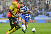 Reading FC midfielder (23) Danny Williams during the Sky Bet Championship match between Reading and Birmingham City at the Madejski Stadium, Reading, England on 9 April 2016. Photo by Mark Davies.