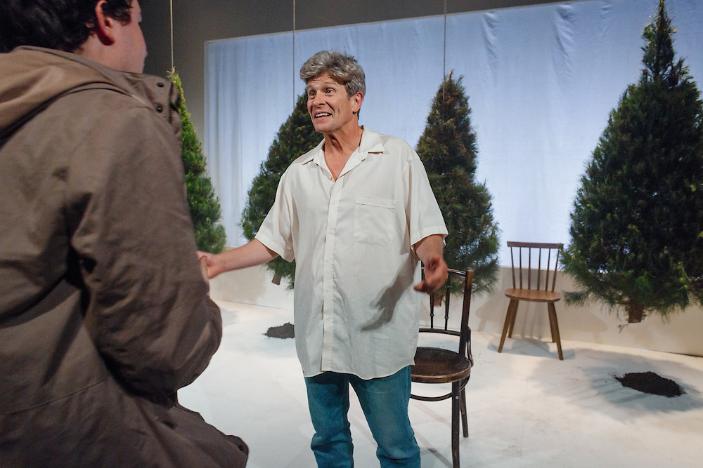Dino Dimitriadis in Association with Red Line Productions present The Shadow Box by Michael Cristofer, at the Old Fitz Theatre in Woolloomooloo, Sydney.<br /> <br /> In this compelling dramatic triptych, three terminal cancer patients dwell in separate cottages on a hospital's grounds. The three are attended and visited by family and close friends: Agnes and her mother Felicity, estranged further by the latter's dementia; Brian and Beverly, whose marital complications are exacerbated by Brian's new lover, Mark; and Joe and Maggie, unready for the strain of Joe's impending death and its effect on their teenage son<br /> <br /> Directed by: Kim Hardwick<br /> With: Mark Lee, Jeanette Cronin, Simon Thomson, Tim McGarry, Anthony Gooley, Kate Raison, Ella Prince, Fiona Press, Jackson Blair-West<br /> <br /> Photos by Robert Catto, on Wednesday 16 November, 2016.