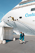 COSTA CROCIERE: Costa Diamante staff