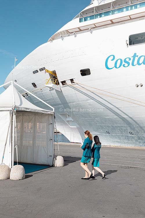 COSTA CROCIERE: Costa Diamante staff