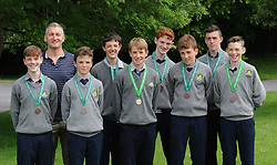 Rice College All Ireland junior Cross Country <br /> medalists.<br />