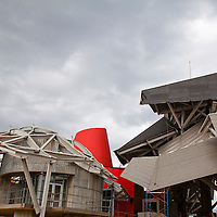 Biomuseo in the Cause way of Amador, Panama City, Panama