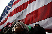 Obama Inauguration train -- Wilmington, DE. Rally for President-Elect Obama and Vice President-Elect Biden.