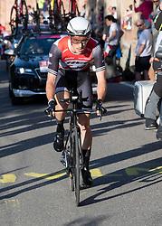 19.05.2018, San Luca, ITA, Giro d Italia 2019, 1. Etappe, Bologna nach San Luca (8km), im Bild Michael Gogl (AUT, Trek - Segafredo) Giro, Giro d Italia, Bologna // Michael Gogl of Austria (Trek - Segafredo) during stage 1 of the 102nd Giro d'Italia cycling race from Bologna to San Luca (8km). San Luca, Italy on 2018/05/19. EXPA Pictures © 2019, PhotoCredit: EXPA/ Reinhard Eisenbauer