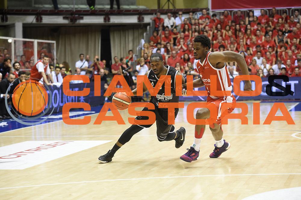 Michael Umeh<br /> Alma Trieste - Segafredo Bologna<br /> Campionato Basket LNP 2016/2017<br /> Playoff Finale Gara 3<br /> Trieste 19/06/2017<br /> Foto Ciamillo-Castoria