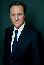 Portrait of David Cameron, London, UK, Thursday January 18, 2010. Photo By Andrew Parsons / i-Images.