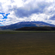 View of the Cotopaxi Volcano.