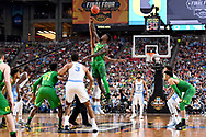 GLENDALE, AZ - APRIL 01: Tip-off against Jordan Bell #1 of the Oregon Ducks and Isaiah Hicks #4 of the North Carolina Tar Heels during the 2017 NCAA Men's Final Four Semifinal at University of Phoenix Stadium on April 1, 2017 in Glendale, Arizona.  (Photo by Brett Wilhelm/NCAA Photos via Getty Images) *** Local Caption *** Jordan Bell; Isaiah Hicks