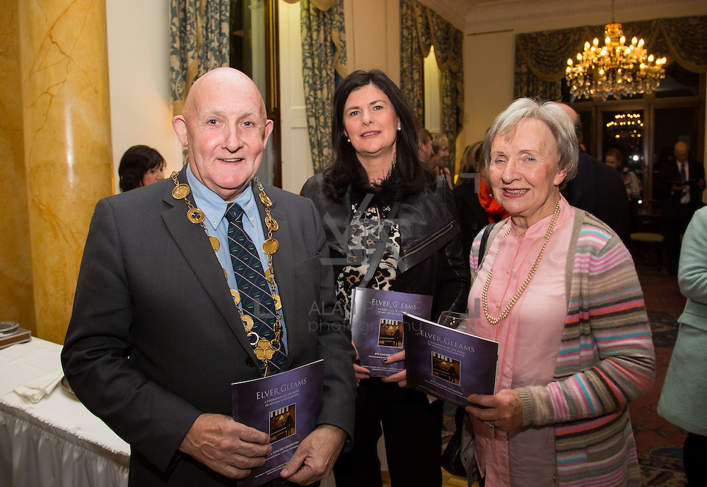 22.11.2016                   <br /> University of Limerick (UL) hosted a gala concert celebrating the music of renowned composer M&iacute;che&aacute;l &Oacute; S&uacute;illeabh&aacute;in.<br /> <br /> Pictured at a special reception before the concert were, Mayor of Limerick City and County, Cllr. Kieran O'Hanlon, Mary Daly and Stephanie Walsh.<br /> <br /> <br /> The RT&Eacute; Concert Orchestra, conducted by David Brophy, performed with M&iacute;che&aacute;l and a selection of special guests in University Concert Hall Limerick. Picture: Alan Place