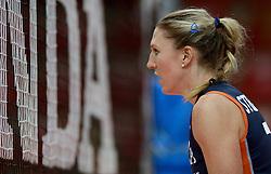 01-10-2014 ITA: World Championship Volleyball Servie - Nederland, Verona<br /> Nederland verliest met 3-0 van Servie en is kansloos voor plaatsing final 6 / Quinta Steenbergen
