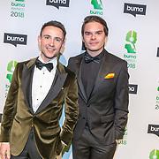 NLD/Amsterdam/20180305 - Uitreiking Buma Awards 2018, Lucas & Steve