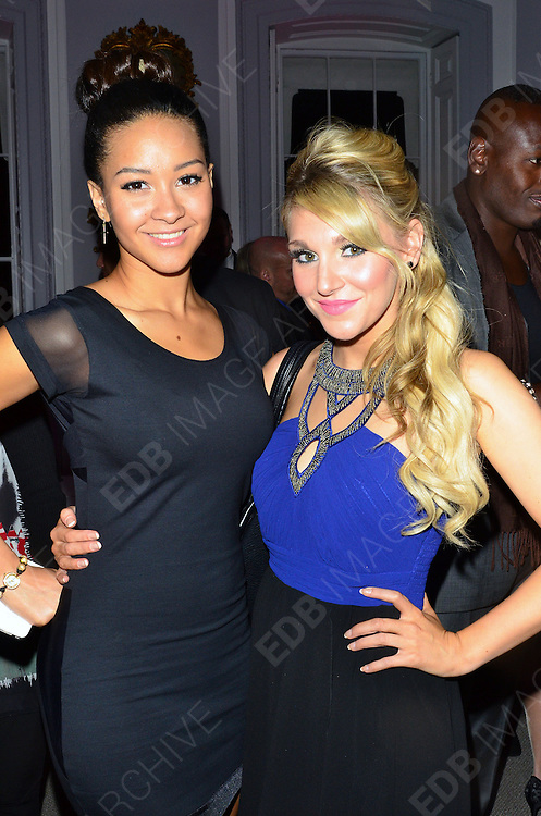 02.OCTOBER.2012. LONDON<br /> <br /> CELEBRITIES ATTEND NICK EDE'S STYLE FOR STROKE CHARITY EVENT AT NO.5 CAVENDISH NIGHT CLUB<br /> <br /> BYLINE: EDBIMAGEARCHIVE.CO.UK<br /> <br /> *THIS IMAGE IS STRICTLY FOR UK NEWSPAPERS AND MAGAZINES ONLY*<br /> *FOR WORLD WIDE SALES AND WEB USE PLEASE CONTACT EDBIMAGEARCHIVE - 0208 954 5968*