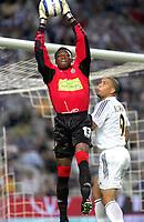 Fotball<br /> Primera Division Spania 2004/05<br /> Espanyol<br /> Foto: Digitalsport<br /> NORWAY ONLY<br /> Carlos Idriss KAMENI