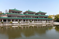 """Jingzhou Museum, noted for its several collections of antiquities, is a popular stop on tours of China and the Yangtze River, primarily because of its 2000-year-old mummy, """"Mr. Sui,""""  Jingzhou is a prefecture-level city in southern Hubei, China, located on the banks of the Yangtze River."""