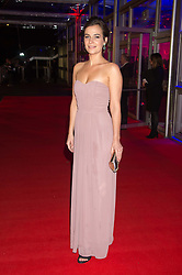 Actress CAMILLA ARFWEDSON at the Battersea Dogs & Cats Home's Collars & Coats Gala Ball held at Battersea Evolution, Battersea Park, London on 12th November 2015.