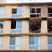Washington, Nov. 2, 2010 -  Fire at Windsor House Apartments, 14th St. NW and Rhode Island Ave. NW