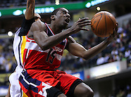 NBA-Indiana Pacers vs Washington Wizards - Indianapolis, IN