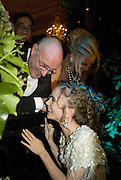 PHIL COLLINS, JILL COLLINS, LILY COLLINS, Crillon Debutante Ball 2007,  Crillon Hotel Paris. 24 November 2007. -DO NOT ARCHIVE-© Copyright Photograph by Dafydd Jones. 248 Clapham Rd. London SW9 0PZ. Tel 0207 820 0771. www.dafjones.com.