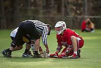 St Paul's School varsity Lacrosse with Tilton School.  ©2016 Karen Bobotas Photographer