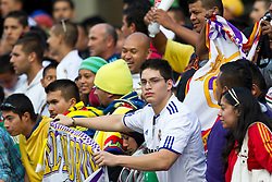August 4, 2010; San Francisco, CA, USA;  Real Madrid and Club America fans before the game at Candlestick Park.