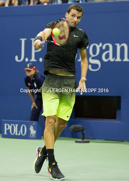 GRIGOR DIMITROV (BUL)<br /> <br /> Tennis - US Open 2016 - Grand Slam ITF / ATP / WTA -  USTA Billie Jean King National Tennis Center - New York - New York - USA  - 5 September 2016.