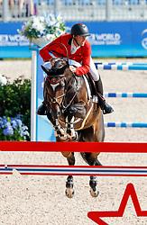 Bruynseels Niels, BEL, Cas de Liberte<br /> World Equestrian Games - Tryon 2018<br /> © Hippo Foto - Dirk Caremans<br /> 19/09/18