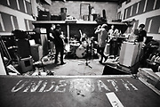 Underoath practice on March 11, 2016 in preparation for their Rebirth Tour