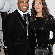 NLD/Amsterdam/20120204 - 30ste Verjaardag Richy Brown, zus Raquel en vade Gerald Brown