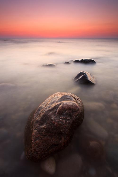 Sunset on Lake Huron near Kincardine, Ontario